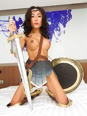 Wonder Woman Bareback Topping
